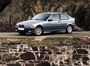 Фото авто BMW 3 серия E36, ракурс: 45 цвет: серый