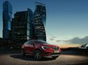 Фото авто Renault Arkana 1 поколение, ракурс: 315 цвет: красный