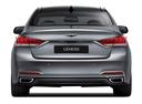 Фото авто Hyundai Genesis 2 поколение, ракурс: 180 цвет: серебряный