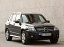 Фото авто Mercedes-Benz GLK-Класс X204, ракурс: 315 цвет: черный