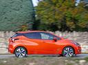 Фото авто Nissan Micra K14, ракурс: 270 цвет: оранжевый