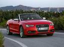 Фото авто Audi S5 8T [рестайлинг], ракурс: 315 цвет: красный