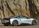 Фото авто BMW i8 I12, ракурс: 225 цвет: серебряный