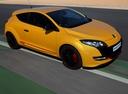 Фото авто Renault Megane 3 поколение [рестайлинг], ракурс: 315 цвет: желтый