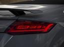 Фото авто Audi TT 8S, ракурс: задние фонари цвет: серый