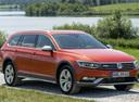 Фото авто Volkswagen Passat B8, ракурс: 315 цвет: оранжевый