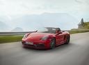 Фото авто Porsche Boxster 982, ракурс: 45 цвет: красный