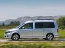 Фото авто Volkswagen Caddy 4 поколение, ракурс: 90 цвет: серебряный