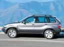 Фото авто BMW X5 E53, ракурс: 90 цвет: серый