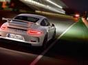 Фото авто Porsche 911 991 [рестайлинг], ракурс: 225 цвет: белый