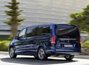 Фото авто Mercedes-Benz V-Класс W447, ракурс: 135 цвет: синий