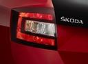Фото авто Skoda Rapid 3 поколение [рестайлинг], ракурс: задние фонари цвет: красный