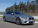 Фото авто BMW M5 F10 [рестайлинг], ракурс: 315 цвет: серый