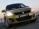 Фото авто Suzuki Swift 4 поколение [рестайлинг],  цвет: желтый