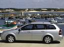 Фото авто Chevrolet Lacetti 1 поколение, ракурс: 90 цвет: голубой