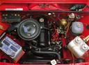Фото авто ВАЗ (Lada) 2107 1 поколение, ракурс: двигатель цвет: красный