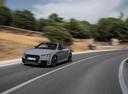 Фото авто Audi TT 8S, ракурс: 45 цвет: серый