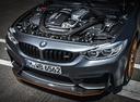 Фото авто BMW M4 F82/F83, ракурс: двигатель цвет: серый