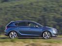 Фото авто Opel Astra J [рестайлинг], ракурс: 270 цвет: синий