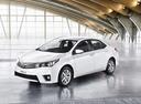 Фото авто Toyota Corolla E160, ракурс: 45 цвет: белый