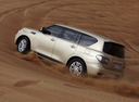 Фото авто Nissan Patrol Y62, ракурс: 135 цвет: бежевый