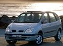 Фото авто Renault Scenic 1 поколение [рестайлинг], ракурс: 45 цвет: серебряный