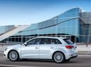 Фото авто Audi A3 8V [рестайлинг], ракурс: 90 цвет: белый