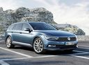 Фото авто Volkswagen Passat B8, ракурс: 315 цвет: синий