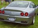 Фото авто Ferrari 550 1 поколение, ракурс: 180