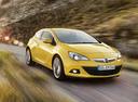 Фото авто Opel Astra J [рестайлинг], ракурс: 315 цвет: желтый