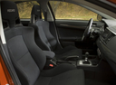 Фото авто Mitsubishi Lancer X, ракурс: сиденье
