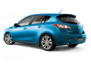 Фото авто Mazda 3 BL, ракурс: 135 - рендер цвет: голубой