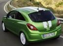 Фото авто Opel Corsa D [рестайлинг], ракурс: 135 цвет: зеленый