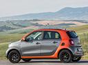 Фото авто Smart Forfour 2 поколение, ракурс: 90 цвет: серый