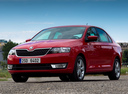 Фото авто Skoda Rapid 3 поколение, ракурс: 45 цвет: красный