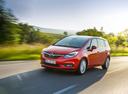 Фото авто Opel Zafira C [рестайлинг], ракурс: 45 цвет: красный