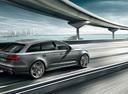 Фото авто Audi RS 6 C7 [рестайлинг], ракурс: 225 цвет: серебряный