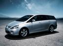 Фото авто Mitsubishi Grandis 1 поколение, ракурс: 45 цвет: серебряный