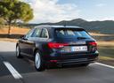 Фото авто Audi A4 B9, ракурс: 135 цвет: синий