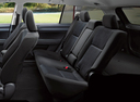 Фото авто Toyota Corolla E160, ракурс: задние сиденья