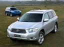Фото авто Toyota Kluger XU40, ракурс: 45