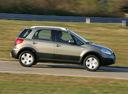 Фото авто Fiat Sedici 1 поколение [рестайлинг], ракурс: 270 цвет: бежевый