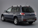 Фото авто Mitsubishi Outlander 1 поколение, ракурс: 135 - рендер цвет: серый