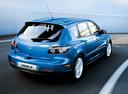 Фото авто Mazda 3 BK, ракурс: 225 цвет: голубой
