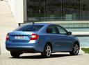 Фото авто Skoda Rapid 3 поколение, ракурс: 225 цвет: голубой