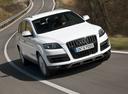 Фото авто Audi Q7 4L [рестайлинг], ракурс: 315 цвет: серебряный