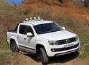 Фото авто Volkswagen Amarok 1 поколение, ракурс: 315 цвет: белый