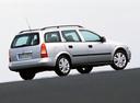 Фото авто Opel Astra G, ракурс: 225 цвет: серебряный