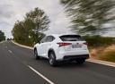 Фото авто Lexus NX 1 поколение [рестайлинг], ракурс: 135 цвет: белый