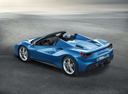 Фото авто Ferrari 488 1 поколение, ракурс: 135 цвет: синий